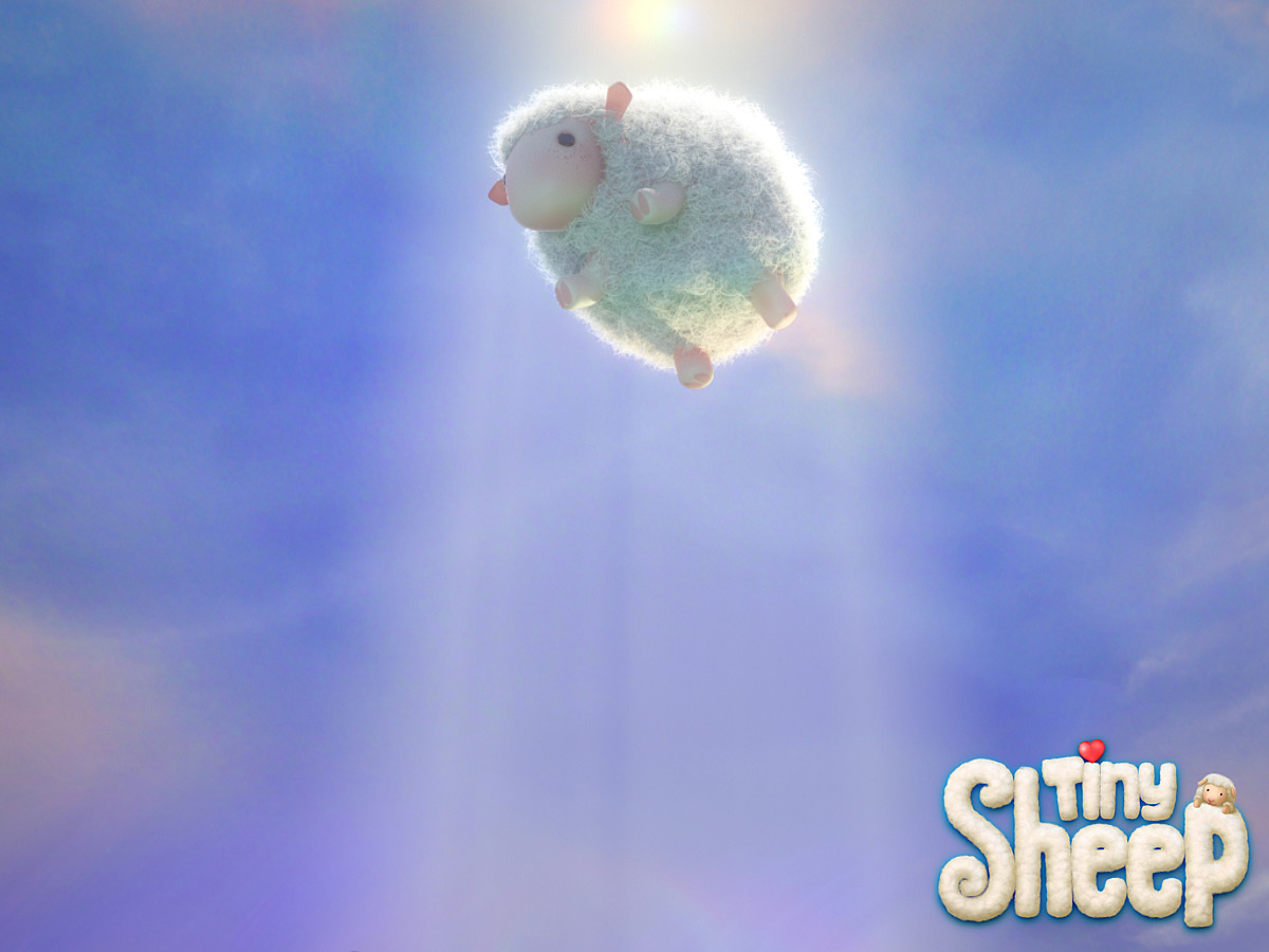 Tiny Sheep Wallpaper Two